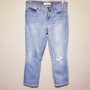 Dittos Mid-rise crop skinny jeans